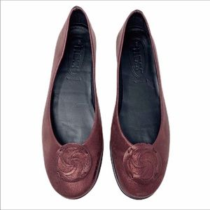 THE FLEXX Bon Bon medallion ballet flats shoes